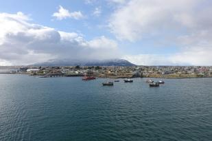 Ablegen in Puerto Natales