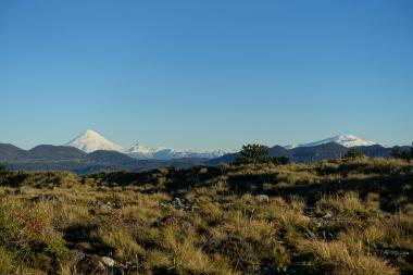Vulkan Lanin in Argentinien