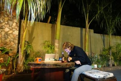 Hostel unter Palmen