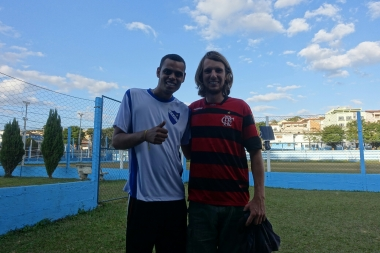 Ronaldinhos neuer Fan
