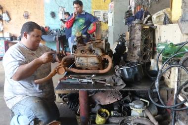 fleißige Mechaniker