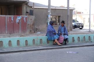 Auf der Straße von Uyuni