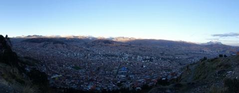 Aussicht auf La Paz