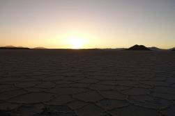 ein letzter Sonnenuntergang