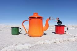 Gefangen in der Teekanne