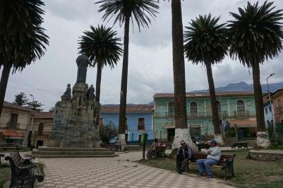 Plaza in Sorata