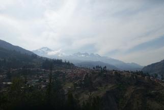 Blick auf die höchsten Boliviens