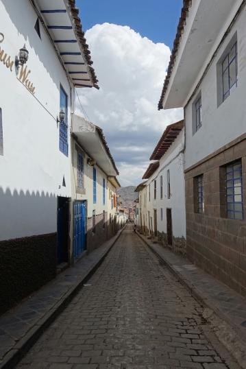 Schmale Gassen in Cusco