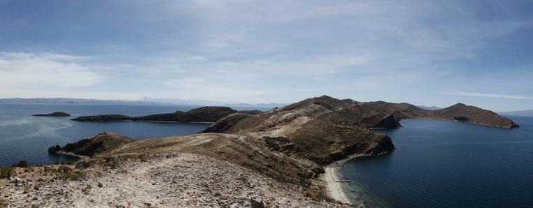 Aussicht von Inselende
