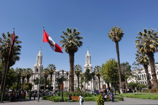 Plaza in Arequipa