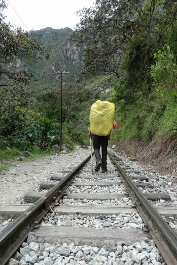 Auf den Schienen...