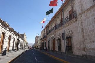 Straßen in Arequipa