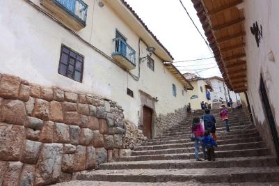 Treppen in Cusco