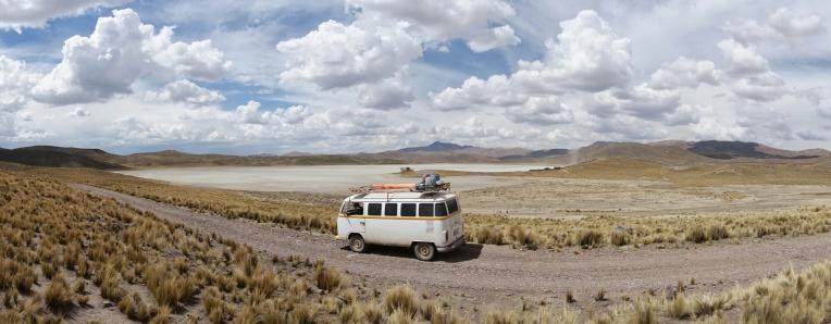 Weg nach Arequipa