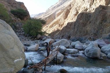 Flussüberquerung