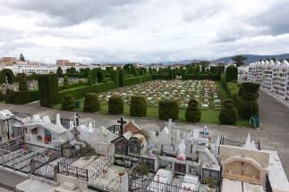 Friedhof an der Grenze