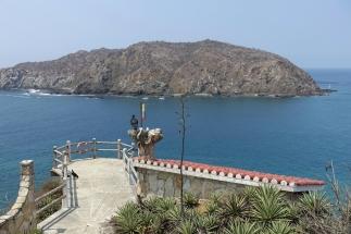 Ausblick auf die Insel