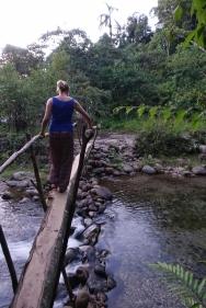 Über die Brücke