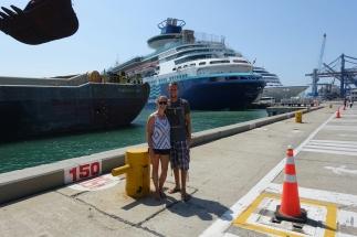 Führung im Hafen