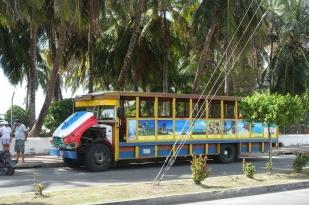 Alte Busse aus Holz