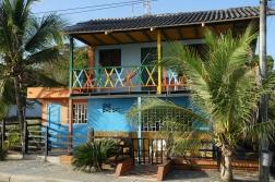 Karibische Häuser