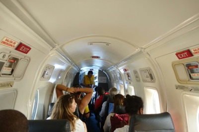 Flugzeug nach Providencia